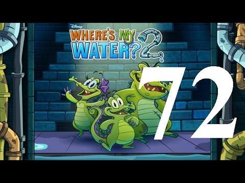Where's My Water 2 Level 72: Case of the Vapors 3 Ducks iOS Walkthrough