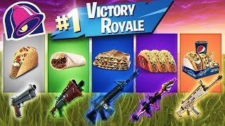 Taco Bell HELPS ME Win A Game of Fortnite! YOU