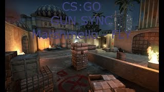 CS:GO GUN SYNC (Marshmello - FLY (Official Music Video)