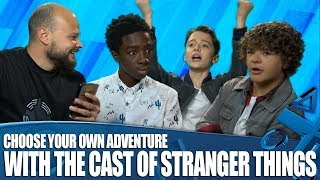 Choose Your Own Adventure with the cast of Stranger Things!