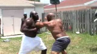 Kimbo Slice Street Fight