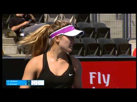 Dominika Cibulkova vs Eugenie Bouchard - Match Highlights
