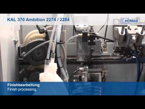 HOMAG Ambition 2274 with Automation