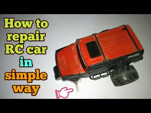 How to repair RC Hummer Car