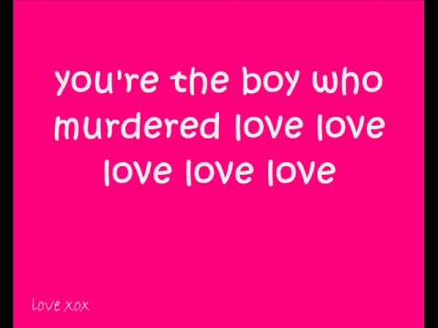 Diana Vickers boy who murdered love lyrics