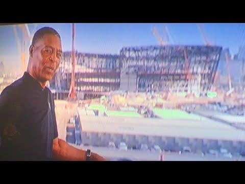 Marcus Allen, Of The Oakland NFL Stadium Development Team, Is Promoting Raiders Las Vegas Stadium