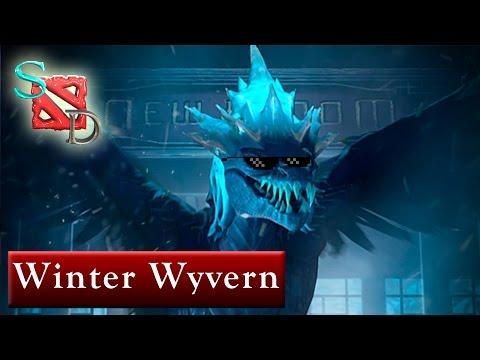 видео: dota 2. winter wyvern. Обзор способностей героя.