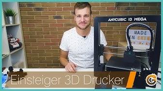 Anycubic I3 MEGA: Der beste Anfänger-3D-Drucker - Test / Deutsch