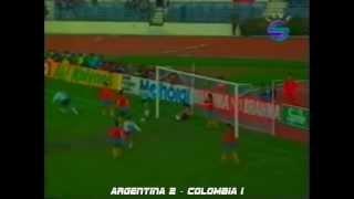Todos Los Goles de la Copa America Chile 1991
