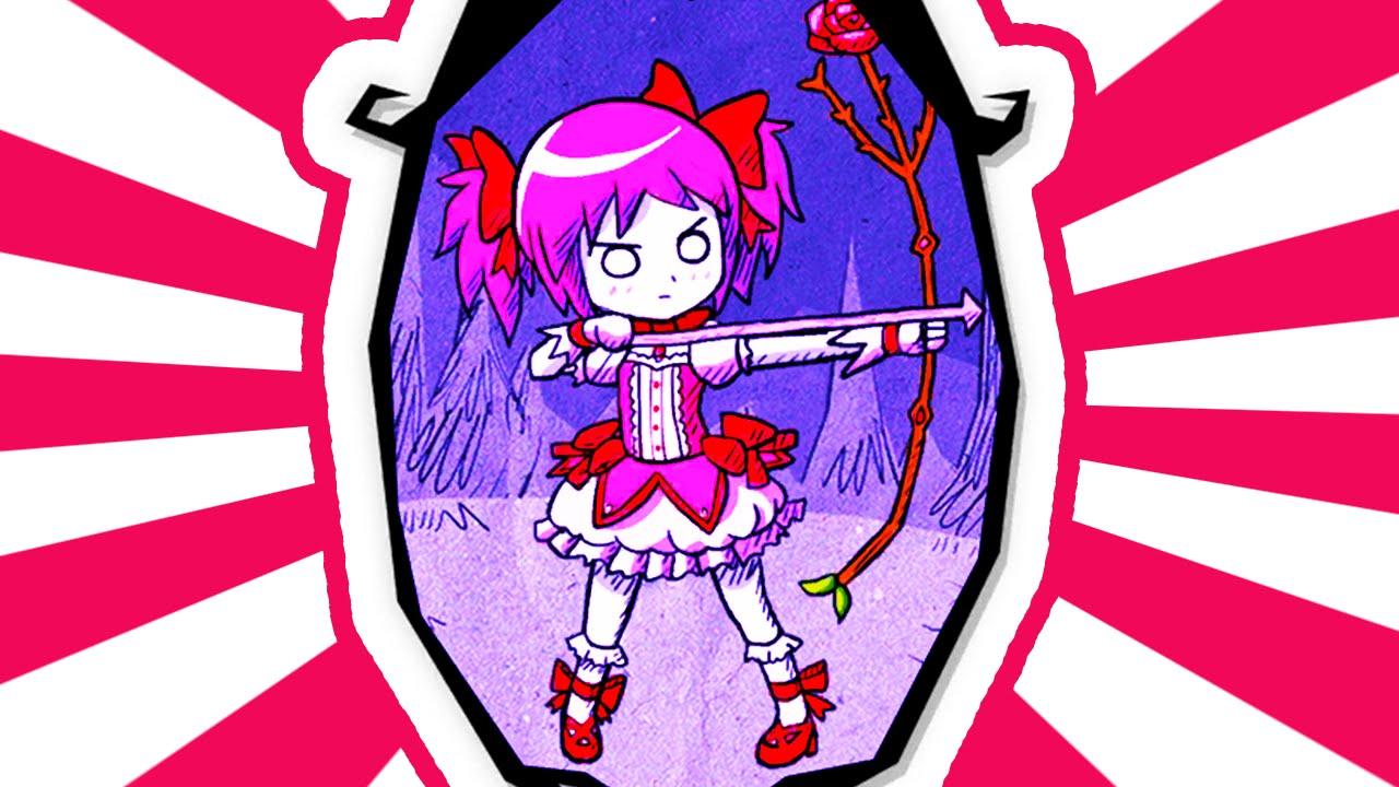 Don T Starve Together Mod Madoka Kaname Puella Magi Madoka Magica Character Youtube