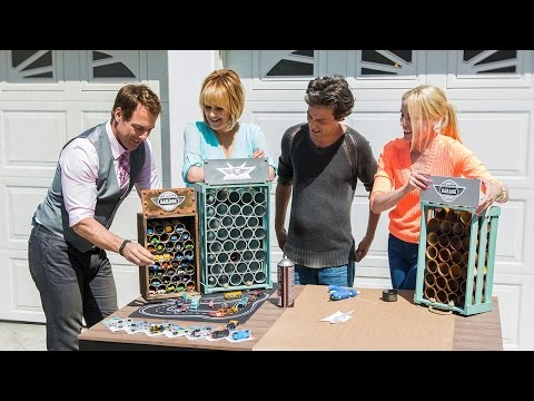 Home & Family - PVC Pipe Car Garage with Jessie Jane