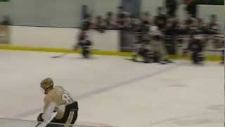 Shootout save during New Jersey Bandits/Oakland Jr. Grizzlies game