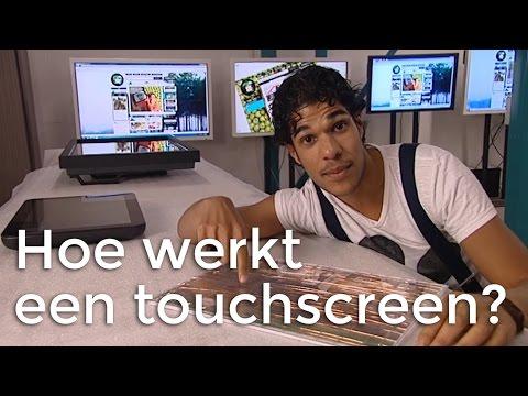 Hoe werkt een touchscreen? | Het Klokhuis