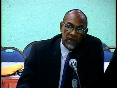 Part 3 - Grenada Media questions Finance Minister Nazim Burke about Sewang One World Affair