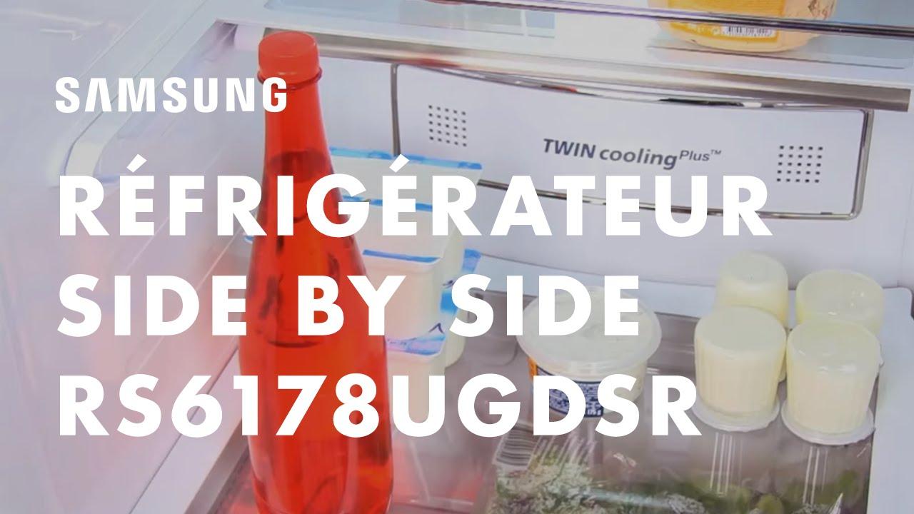 Réfrigérateur Samsung Side By Side _RS6178UGDSR Photo Gallery