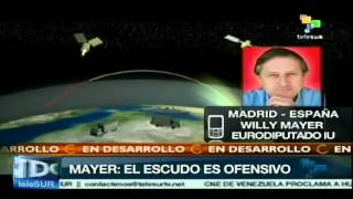 Escudo antimisiles en España, llamado al rearme: Willy Meyer