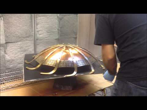 Bradley Home Historic Luminaire Lacquer Application