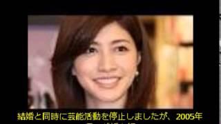 内田有紀さんは1975年11月16日、東京都日本橋市で生まれました。 中学時...