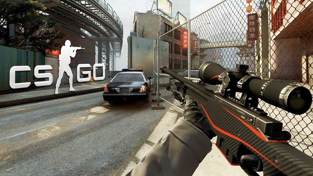 cs go awp redline gameplay youtube