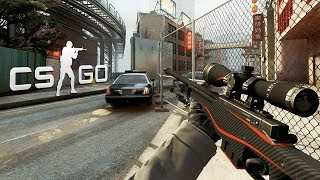 CS:GO - AWP Redline Gameplay