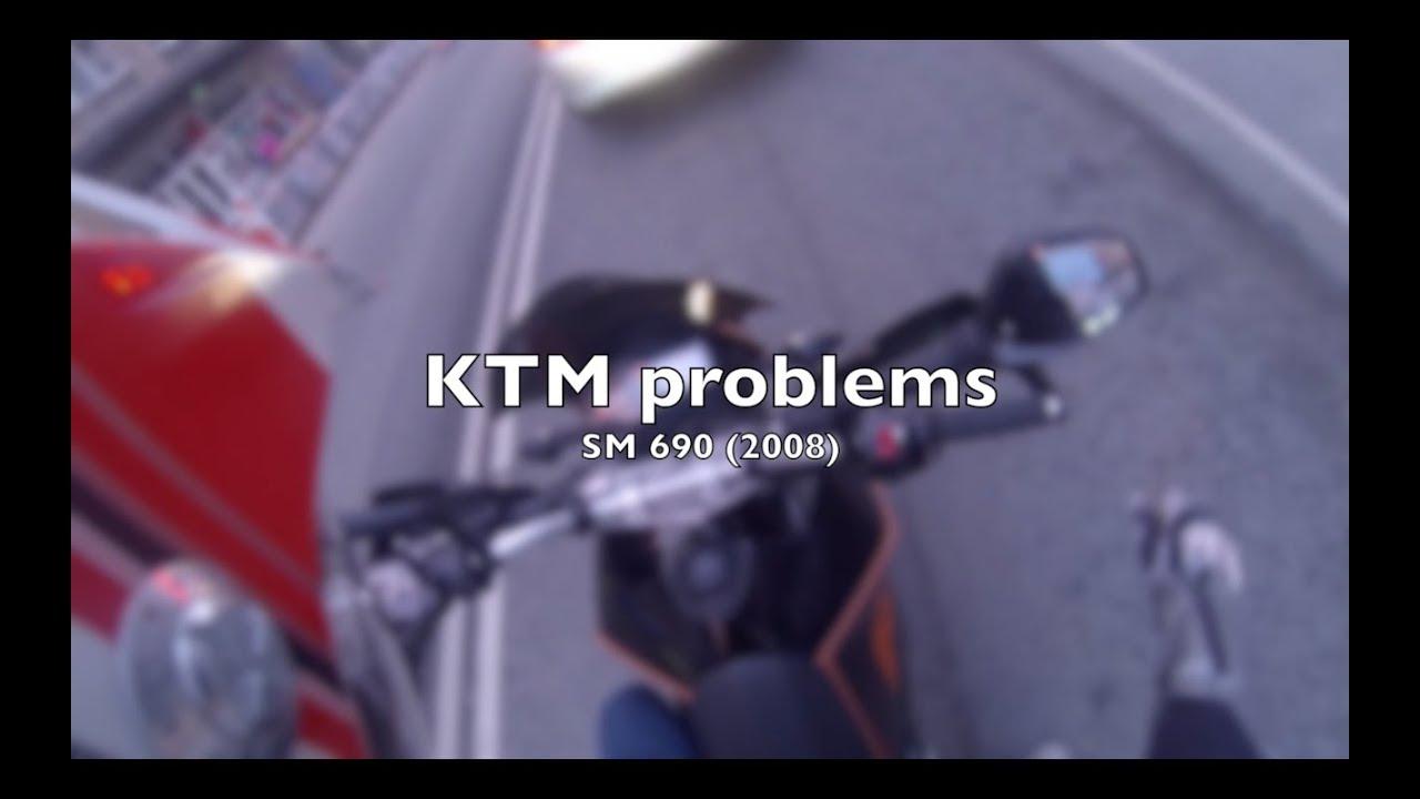 Help - KTM SM 690 problems! [solved]