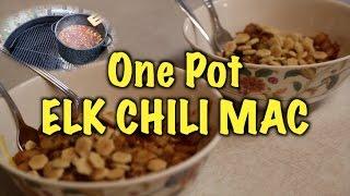 One Pot Elk Chili Mac