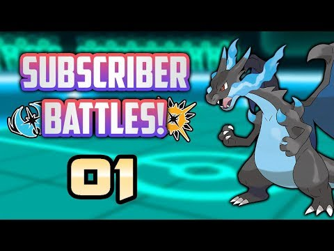 Pokémon Ultra Sun & Moon Subscriber Battles #1!