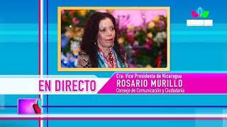 Comunicación con la Vicepresidenta Compañera Rosario Murillo, 15 de Abril de 2019