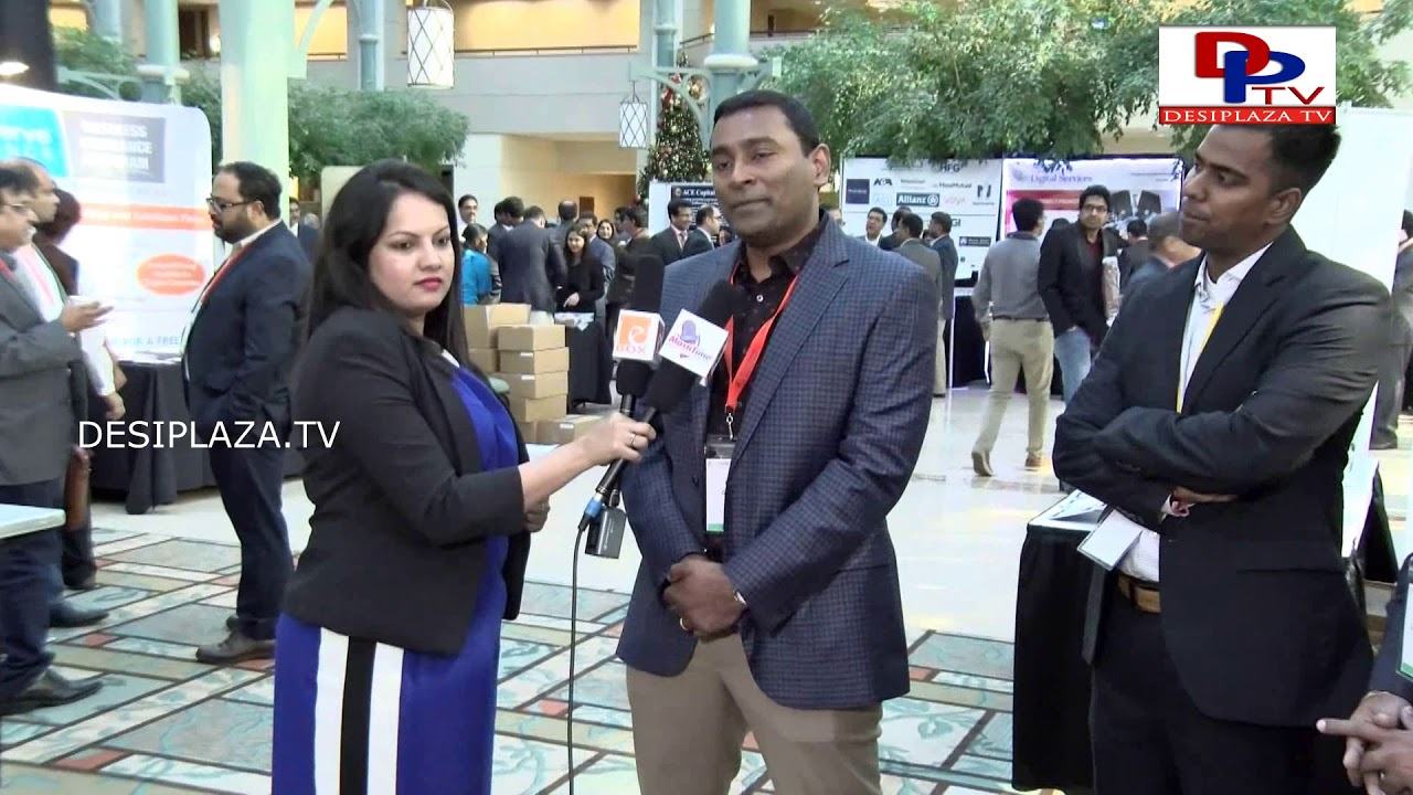 Krishna Garimalla of Onblink speaking to Desiplaza TV of ITSERVE SYNERGY 2017
