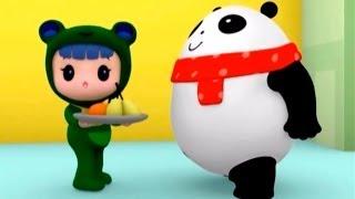 Мультики Руби и Йо-Йо - Медвежонок Панда