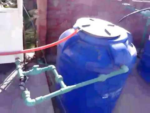 وحدة منزلية لمعالجة مياه الصرف و مبتكر الوحدة يتبرع بالتصميمات مجاناً ! 1