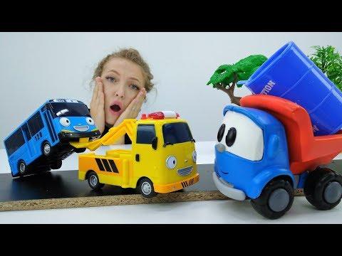 Грузовичок Лева и Автобус Тайо - Мультик с игрушками