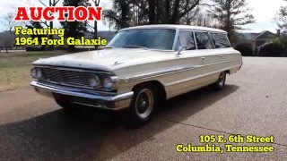 AUCTION on Feb 13th, 2016 featuring 1964 Ford Galaxie Vintage Car