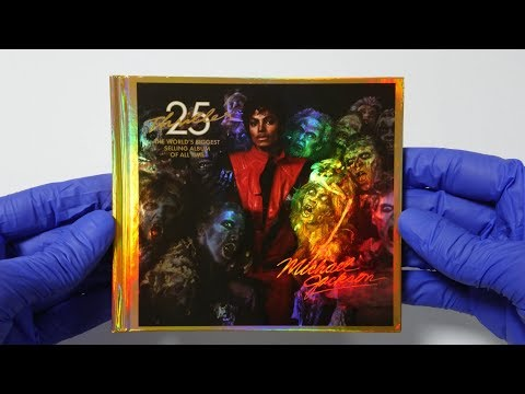 Michael Jackson - Thriller 25th Anniversary Edition (Deluxe Digipack) 2008 Unboxing 4K | MJ Unboxing