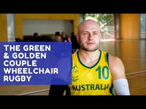 The Green and Golden Couple: Wheelchair Rugby