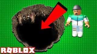 FALL DOWN A 1,000,000 FEET HOLE IN ROBLOX!