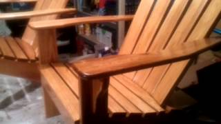 Adirondack Chair Build 2012