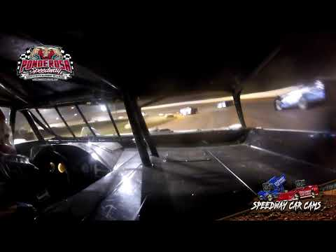 #T10 Clay Turner - Crate Late Model - 8-2-19  Ponderosa Speedway - In-Car Camera