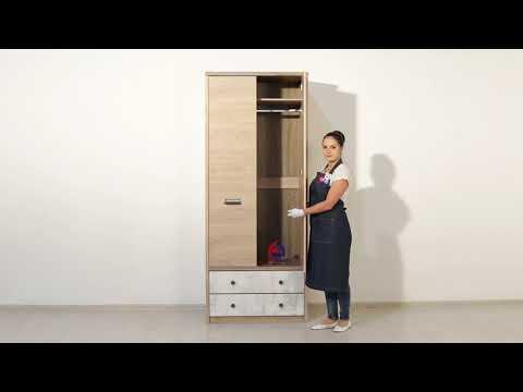 ВидеоОбзор EuroMebel: Шкаф для одежды коллекции Дизель, Беларусь