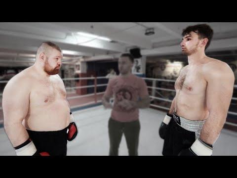 Дацик против огромного боксера нокаутера / Финальный бой трансформации / Сколько сбросил Слава
