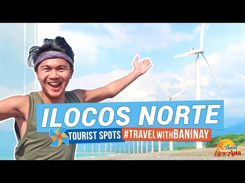 ILOCOS NORTE TOURIST SPOTS | Travel with BANINAY | Pagudpud, Laoag, Paoay and more! | TricksterzPH