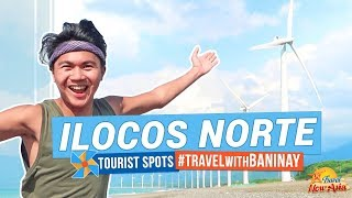 ILOCOS NORTE TOURIST SPOTS   Travel with BANINAY   Pagudpud, Laoag, Paoay and more!   TricksterzPH