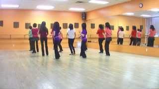 Over Time - Line Dance (Dance & Teach in English & 中文)