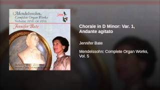 Chorale in D Minor: Var. 1, Andante agitato