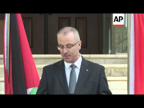 Newly appointed PM chairs first meeting of Palestinian unity government; Regev comments