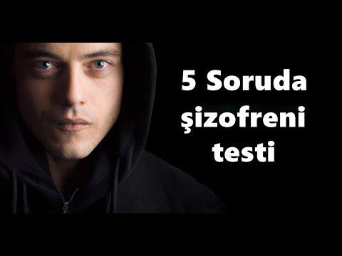 5 Soruda Şizofreni Testi / 2018