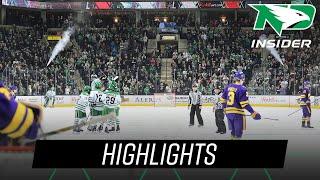 North Dakota vs. Minnesota State | Highlights | UND Hockey | 10/20/18