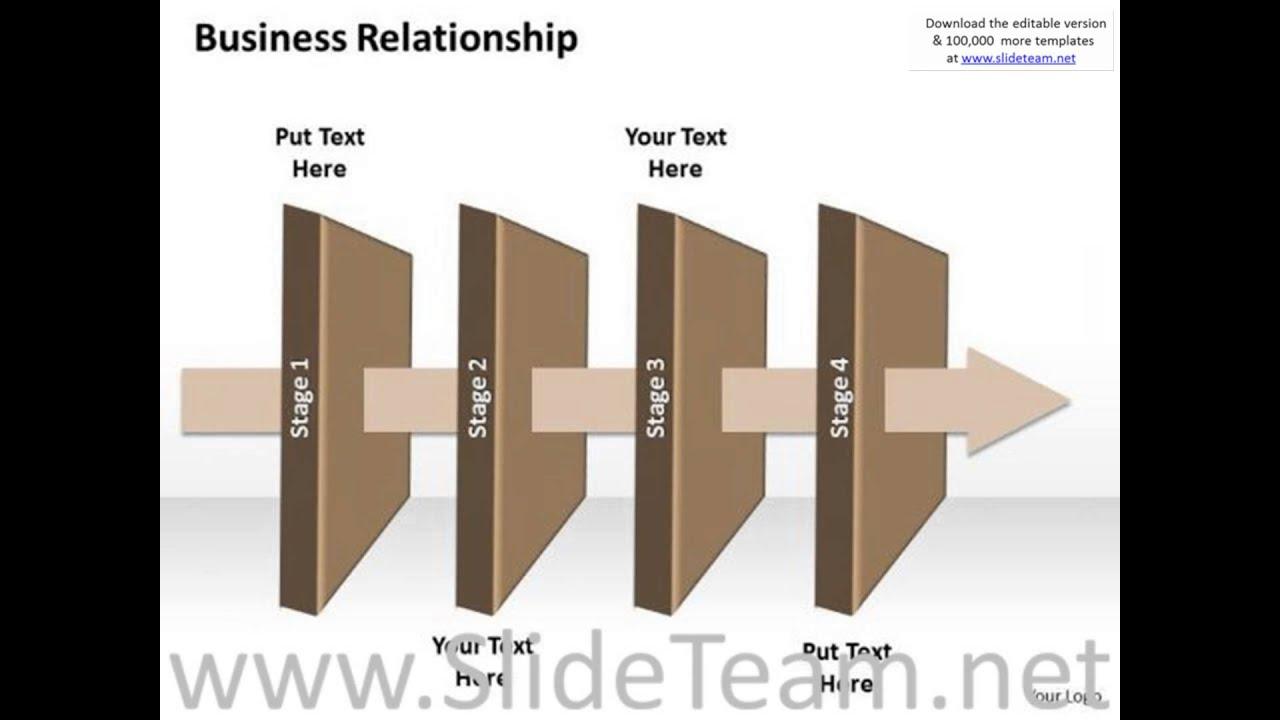 Ppt Linear New Business Powerpoint Presentation Process Flow Diagram Templates Infograp