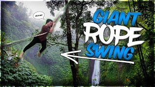 THE BIGGEST ROPE SWING EVER!!