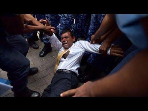 Maldives arrests ex-president Nasheed